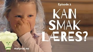 Download MatPrat Tester: Kan smak læres? Video