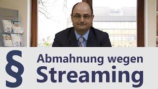 Download Streaming | Abmahnung | Rechtsanwalt | Heidelberg Video