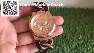 Download รีวิว review นาฬิกา Michael kors โมเม runway mk4269 watch กำไล สีทองชมพู pink gold stainless ของแท้ Video