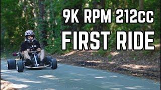Download FIRST RIDE | 20HP Big Valve Predator 212cc Video