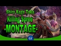 VAINGLORY: Ultimate Taka Montage | Crystal Build || Shiro Kage Taka Killing Spree | Hero Montage Ep1