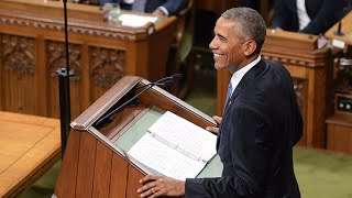 Download President Barack Obama delivers stirring speech in Parliament Video