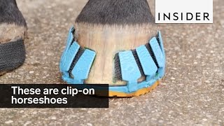 Download These are clip-on horseshoes Video