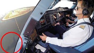 Download A380 Lufthansa in Hongkong: GIGANTEN-LANDUNG mit Captain Helmut's ruhiger Hand - Cockpitfilme.de Video