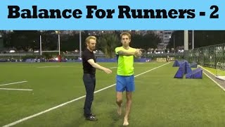 Download Balance Exercise For Runners - Part 2 Video