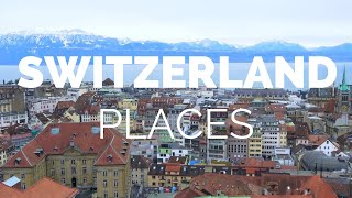 Download 10 Best Places to Visit in Switzerland - Travel Video Video