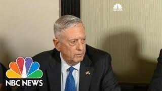Download Defense Secretary James Mattis: USS McCain Crash Under Investigation | NBC News Video