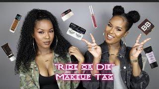 Download Ride Or Die Makeup Tag | Glamtwinz334 Video