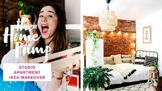 Download Stunning Studio Apartment Makeover On A Budget | Ikea Hacks | The Home Primp Video