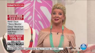 Download HSN | Heidi Daus Jewelry Designs 05.16.2017 - 01 PM Video