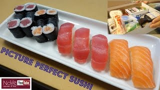 Download Perfectly Made Sushi Using A Sushi Kit - How To Make Sushi Series Video