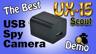 Download The Best Motion Detect USB Spy Camera In The World: 2019 UX-9 Scout Video