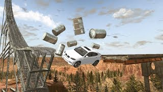 Download Beamng drive - Barrel Wipeout Video