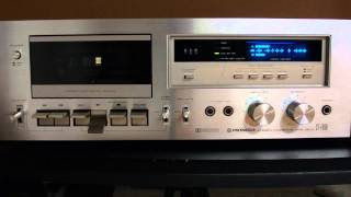 Download PIONEER Stereo Cassette Tape Deck CT-F650 Video