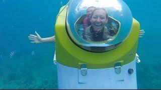 Download WE RODE IN A SUBMARINE!   Mauritius Blue Safari Video