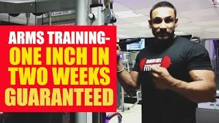 Download One inch in two weeks guaranteed- arms training Video
