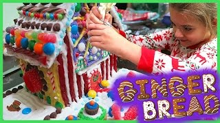 Download MAKING THE ULTIMATE GINGERBREAD HOUSE!! Video