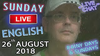Download Live English - Sunday 26th August 2018 - words / fly phrases / awkward moments Video