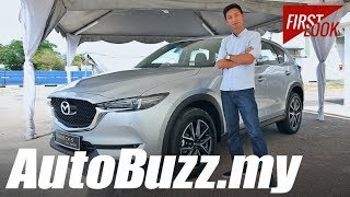 Download 2017 Mazda CX-5 2.2L Diesel AWD First Look - AutoBuzz.my Video