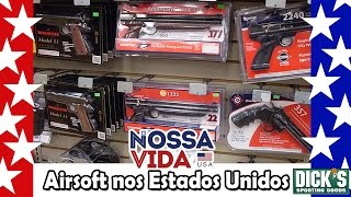 Download Preço Airsoft nos Estados Unidos - DICKS - Nossa Vida USA Video