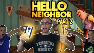 Download PBT Fidget Spinners! Hello Neighbor Part 2 Twin Toys Kids Jumpscare Video
