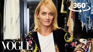 Download Supermodel Amber Valletta Takes You on a 360° Tour of Her Closet | Supermodel Closets | Vogue Video
