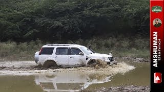 Download Yeti 4x4, Scorpio MLD 4wd, Isuzu V Cross, Duster, Endeavour: Weekend offroading in Mud. Aug17 Video