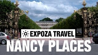 Download Nancy Places (France) Vacation Travel Video Guide Video