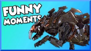 Download Horizon Zero Dawn Funny Moments - Sawtooth Fight, The Proving, and Overriding Machines! Video
