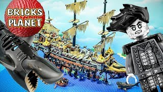 Download Silent Mary 71042 Lego Pirates of the Caribbean Stop Motion review Video