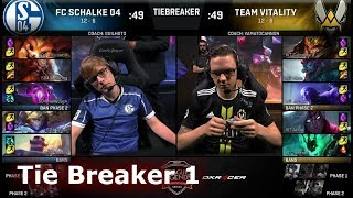 Download FC Schalke 04 vs Vitality Tie Breaker | Week 9 Day 3 S8 EU LCS Summer 2018 | S04 vs VIT W9D3 Video
