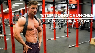 Download STOP DOING CRUNCHES | 5 Exercises For A Six Pack | Ep. 06 Video