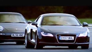 Download Audi R8 vs Porsche 911 Carrera - Top Gear - BBC Video