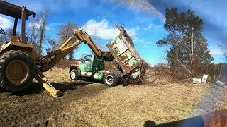 Download Farm scrap metal cleanup day two Video