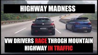 Download VW & Honda Race on Karak Highway Malaysia Video