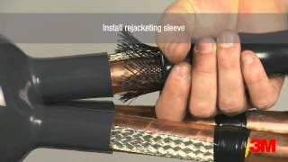 Download 3M™ Premium MV Outdoor Cold Shrink Termination - Fully Integrated (QTIII) Video