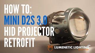 Download How to Mini D2S 3.0 Projectors DIY H4 9003 HID Install - 2002 Honda CRV lumeneticlighting Video