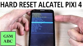 Download HARD RESET Alcatel PIXI 4 | How to | Restore Video
