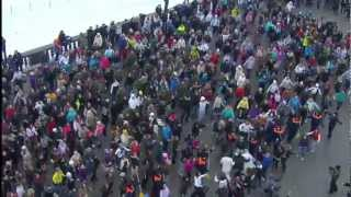 Download Flash mob in Moscow, Russia 26.02.12 Video