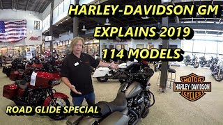 Download Harley-Davidson 2019 Milwaukee Eight 114 Touring Models Explained Video