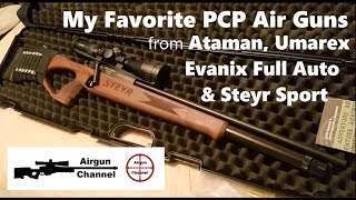 Download See My Favorite PCP Air Guns - STEYR / ATAMAN / EVANIX / UMAREX Video