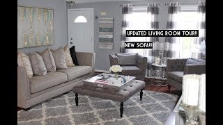 Download LIVING ROOM TOUR    NEW SOFA    ASHLEY FURNITURE Video
