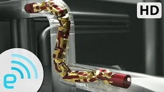 Download Carnegie Mellon Modular Snake Demo | Engadget Expand 2013 Video