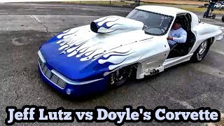 Download Nitrous Corvette vs Jeff Lutz at the Out of Time No Prep Series Video