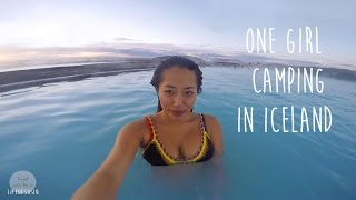 Download One Girl Camping Around Iceland Ringroad Video