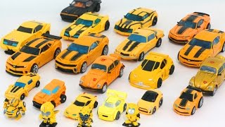 Download Yellow Color Transformers Autobot Bumblebee Camaro Mini Deluex 22 Vehicles Figure Robot Car Toys Video