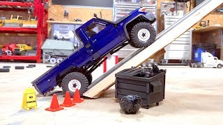 Download MAX Traction, Steep Incline Test - Toyota Land Cruiser LC70 UTE - BRX01 Boom Racing Video