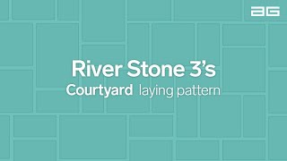 Download 3 s Mixed Courtyard Laying Pattern Video
