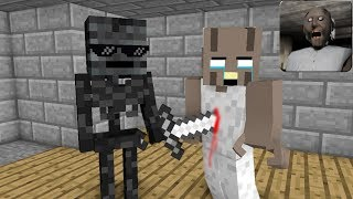 Download Monster School : GRANNY HORROR GAME CHALLENGE 2 - Minecraft Animation Video