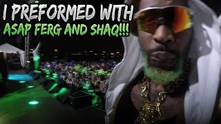 Download MY BIGGEST PERFORMANCE EVER!! ZOMBIE PUB CRAWL FT. Shaquille O'Neal and ASAP FERG Video